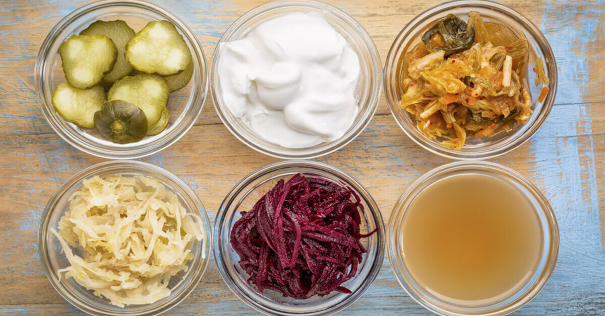 Probiotic rich, fermented foods help balance the oral and gut microbiome