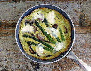Mushroom Asparagus Frittata: A Delicious Paleo Recipe