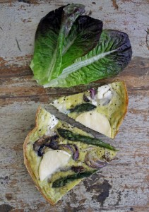 Paleo Breakfast Recipes: Mushroom and Asparagus Frittata